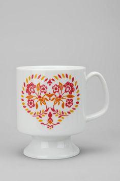 Lovely Heart Flared Mug
