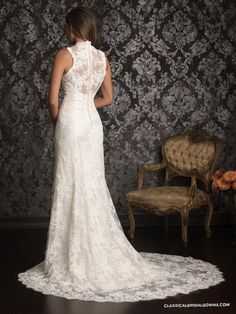 Well-known Allure Bridals 9019 Vintage Lace Wedding Dress | Wedding Dress Embellished Straps in Our Shop