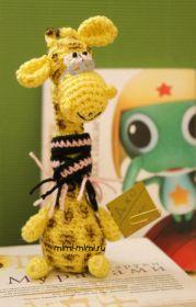 Giraffe Amigurumi - Free Russian Pattern here: http://knitting-for-babies.ru/igrushki/zhiraf-dzho