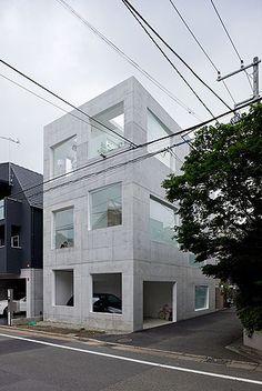 House H, Tokyo, Japan by Sou Fujimoto.