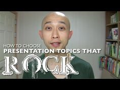 http://presentationexpressions.com One of the toughest things about presentations is choosing a topic. Lately, I've received quite a few comments and questions about choosing a presentation topic. So, in this week's video I'll show you a simple 3 step process to choose presentation topics that rock! (Or that aren't boring)    My main website: http...