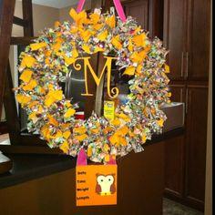 Welcome Baby Hospital Door Wreath