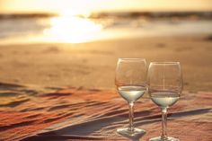 Romantic Sunrise Beach Proposal