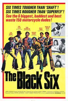 'The Black Six' - film poster art, USA, 1973.