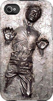 Han Solo in carbonite iphone