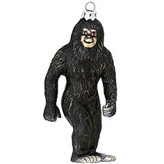 Bigfoot Glass Ornament - 1133053 - $9.99 http://www.bronners.com/categories/christmas-ornaments/legends-symbols-traditions