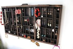 Printer box jewelry storage