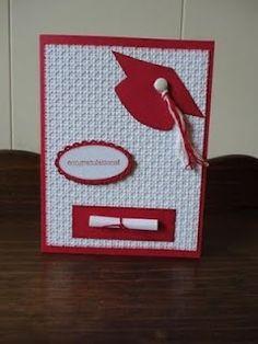 graduat card, graduation cards, homemade cards, school color