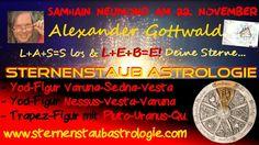 Astrologie Horoskop Neumond November 2014 Samhain Deutschland Yod-Figur > Astrology Horoscope November 2014 New Moon Samhain Germany yod