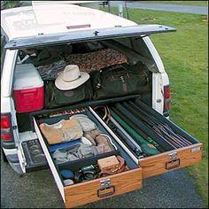 DIY Truck Storage