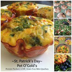 LCHF St. Patrick's day Breakfast pot o'golds | Product Junkie