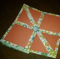 """With just a few simple origami folds, anyone can create this fun, original, easy-to-personalize """"Pop-Up Scrapbook."""" Choose 2-3 patterns of scrapbook..."""