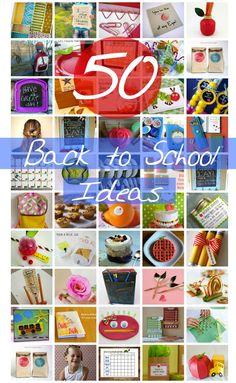 50 Back to School Ideas