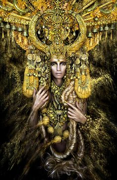 Gaia, The Birth of an End by Kirsty Mitchell, via Flickr