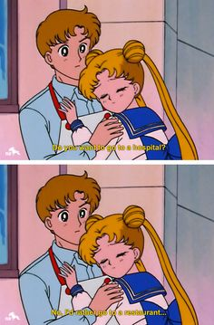 "When you knew food was the answer. | 17 Times ""Sailor Moon"" Totally Got You"