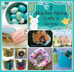 7 Hop into Spring Crafts & Recipes