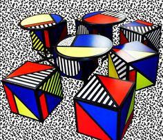 memphis, journals, inspiration, pattern, memphi group, interiors, colors, art, furniture