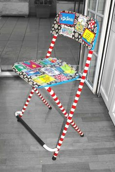 Seussing a bar stool into a baby high chair - IKEA Hackers