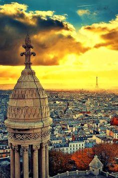 Paris Sunset.....#famfinder