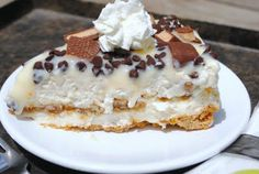 Frozen Toffee Cheesecake