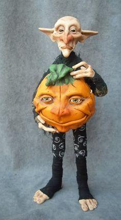 halloween doll, doll art, doll onli, awesom doll, clay oddfa, doll idea, clay idea, clay fae, art dolls