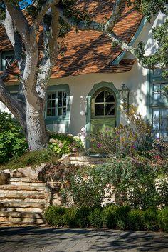 Cute Cottage - Hugh Comstock Architecture - Monterey Penninsula, California