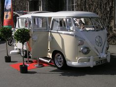 Meet Lola, she's a 1964 LHD Californian import.  Now in the wedding business in Cornwall.  Isn't she a beaut!