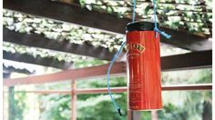Keep Mosquitoes at Bay with This Plastic Bottle Bug Trap--I'm willing to try JUST for the chance that it's effective. But maybe I can wrap the tube so it looks better when I hang it... I'm getting eaten alive this summer.