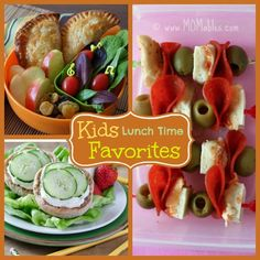 Lunchtime Favorites - From corn dogs, to chicken nuggets, you'll be sure to find your child's favorite in this recipe collection.