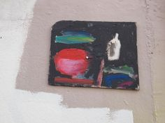 found painting