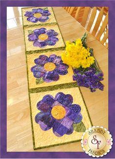 Applique Pansy Pattern Quilt – Pansy Appliqué Pattern