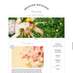 Responsive Portfolio Wordpress Theme by Pounce Design on Creative Market