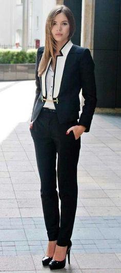 Womens Tuxedo suit