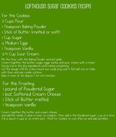 We Three Mothers: Lofthouse Sugar Cookies