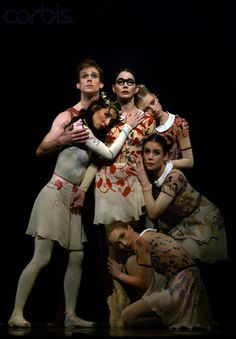 "Mara Galeazzi, Edward Watson and Tamara Rojo in Kenneth MacMillan;s ""My Brother, My Sisters"" - The Royal Ballet"
