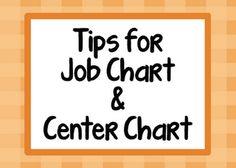 classroomkid ideasstuff, center chart, school, printables, classroom manag, pockets, job chart, pocket charts, teach