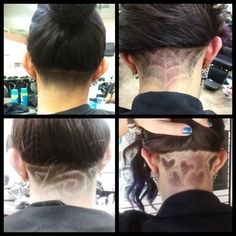 under shave haircut designs tumblr  Shaved head designs
