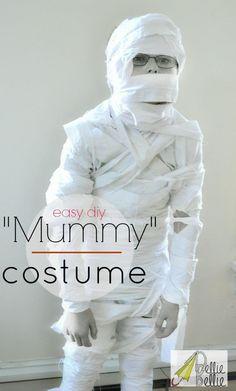 DIY BOYS HALLOWEEN COSTUMES : DIY Mummy Costume