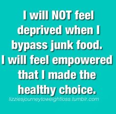 Make healthy choices.