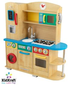 Cook Together Kitchen  Product ID: 5212527 Item ID: 5894492  Description : Get out your chefs hat and apron, because it's time to cook up some fun! Our Cook Together Kitchen is perfect for any young chef who loves to help in the kitchen. Refrigerator, dishwasher, oven, microwave and washing machine Doors all open and close. Removable sink for quick and easy cleaning Cordless phone Clock with moving hands Details: Age: 3+ Dimensions: 38 in L x 13 in W x 42 in HMaterials: MDF, Plastic $259.90