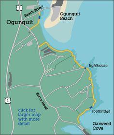 Ogunquit Maine Map