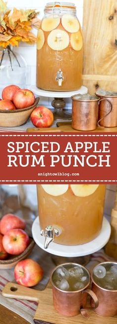 Spiced Apple Rum Pun