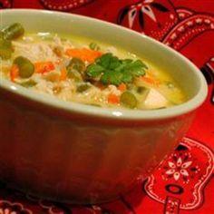 Creamy Chicken Vegetable Chowder