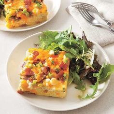 Quick dinner recipes: Bacon and Cheese Frittata