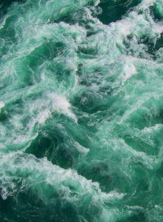 Ocean waves - churning beauty