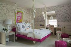 decor, caan interior, liz caan, dream bedroom, hanging beds, interior llc, rope, beach bedrooms, girl rooms