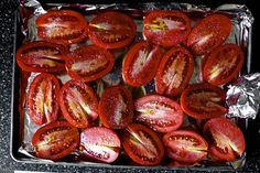 roasted tomatoes #tomatoes