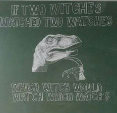 Funny images of the day (65 pics) Wich Witch Would Watch Which Watch