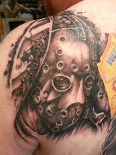 Friday the 13th Jason Vorhees tattoo