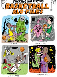 Fucking Horrifying Basketball Blo-Files | VICE Canada #VICE #BASKETBALL #COMICS